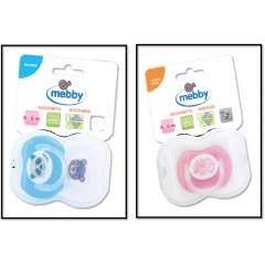 Mebby Soother Silicon 6+ Months # 92791