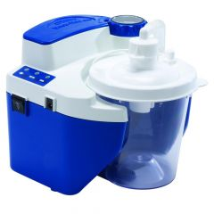 Devilbiss Vacu-Aide Quiet Suction Unit (QSU) With Battery And ReUnited Statesble Container # 7314P-Ur