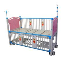 SAIKANG X05-5 MANUAL CARTOON CHILDREN HOSPITAL BED