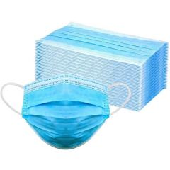 Disposable 3 PLY Protective Mask, 50 Pieces