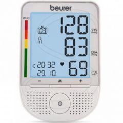 BEURER SPEAKING UPPER ARM BLOOD PRESSURE MONITOR # BM 49