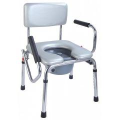 Al Essa Extra Wide Steel Commoe Chair (Soft Seat) # Ca6671