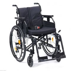DRIVE Super Deluxe Aluminium Light Weight Wheelchair Colour Metallic Black # Sd2Sp