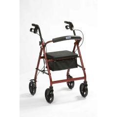 DRIVE Lightweight Aluminium Rollator Red # R8Rdha