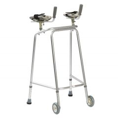 DRIVE Walker With Wheels & Forearms # 10285Wfp30