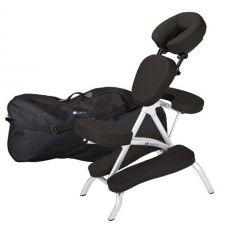 Earthlite Vortex Portable Massage Chair Package,Black # 081511005