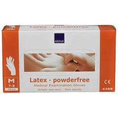 ABENA LATEX GLOVES POWDER FREE (Packet of 100pc)