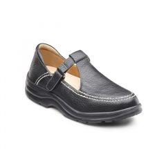 Dr. Comfort Lightweight Velcro For Women- Lulu Shoes Black – Medium