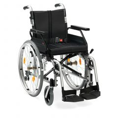 "DRIVE Aluminium Wheelchair Self Propel-Xs2-20"" (50 Cm) # Xs2Sp20Sil"