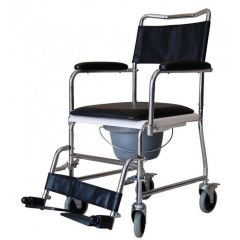 Al Essa Commode (Wheelchair Type)With Padded Seat # Yk4010