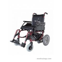 AL ESSA Power Wheelchair- Pioneer With Pg(Uk) Controller, Color Wine Red # Y201