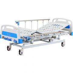 Saikang Manual Bed # Sk041-3 With Sk045 Side Rail And Mattress # Skp003