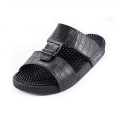 Kenkoh Sandal Male-Musashi Elegance Black
