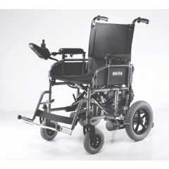 """MERITS Folding Power Wheelchair-18"""" -Solid Tyres # P101(Mp-1)"""