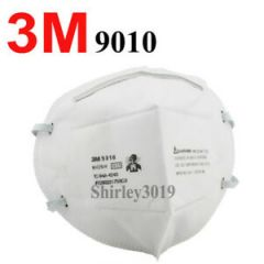 3M PARTICULATE RESPIRATOR N95 FACE MASK # 9010