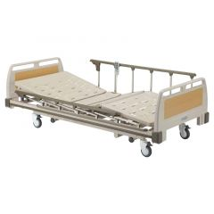 SIGMA Electric Bed (L2140Xw1000Mm) With Side Rail # B-630A And Mattress # Mf-100