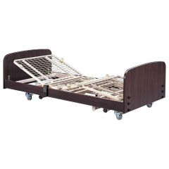 SIGMACARE Economic Electric Hospital Bed (L2090 X W1000Mm, 3 Motors) # B-600Pl With Mattress # Mf-100 And I.V. Pole