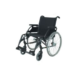 Sunrise - Breezy Premium Wheelchair, 24 Inch Solid Spoke Wheel