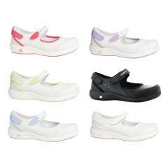 OXYPAS LIGHTWEIGHT ANTISTATIC ESD NURSES SHOE-NELIE WHITE