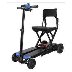Solax Maleta Lightest Automatic Folding Scooter-Blue (Weight Capacity -136Kg) # S3121
