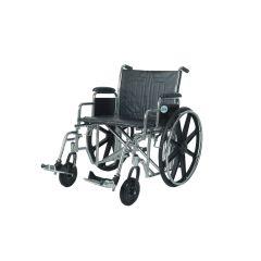"DRIVE Steel Wheelchair-Bariatric Sentra Ec -22"" # Std 22 Ecdda"