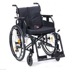DRIVE Super Deluxe Aluminium Light Weight Wheelchair Colour Metallic Black # Sd2Sp