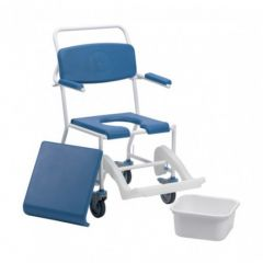 DRIVE Uppingham Mobile Commode Shower Chair # 172