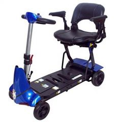 Solax Mobie+ Manual Folding Scooter-Blue (Weight Capacity -136Kg) # S2043