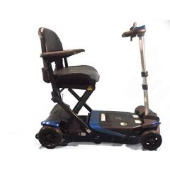 Solax Transformer Automatic Remote Control Folding Scooter-Blue (Weight Capacity -125Kg) # S3021