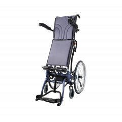 """Karma Manual Standing Wheelchair,Sme,With Seat Width: 48Cm & Depth: 48Cm,24""""Solid Rear Wheels"""