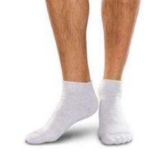 Knitrite Smartknit Diabetic Crew Socks White-X-Large # 71152