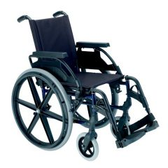 Sunrise - Breezy Premium Wheelchair, 12 Inch Solid Wheel
