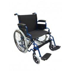 AL ESSA Standard Wheelchair - 22 Inch With Solid Pu Tyre/Spoke Wheel # Yk9031