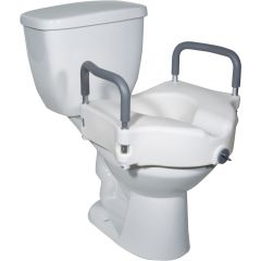 DRIVE 2 In 1 Locking Elevated Toilet Seat # 12027Ra