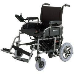 "MERITS Heavy Duty Folding Power Wheelchair-22""-Solid Tyres # P181/P182(Mp-1 X/U)"