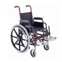 "MERITS Pediatric Steel Wheelchair-14"" Solid Tyres # M451"