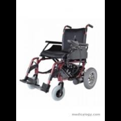 AL ESSA Power Wheelchair- Pioneer With Pg(Uk) Controller, Color Wine Red # Y201