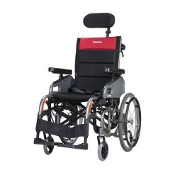 """Karma Tilting,Reclining & Foldable Wheelchair Vip2,With Seat Width 45Cm,Size 18"""",With 20"""" Spoke,Quick Release"""