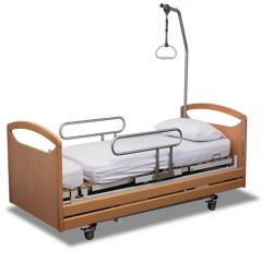 APEX UK Rota-Pro Rotational chair bed with mattress and lifting pole
