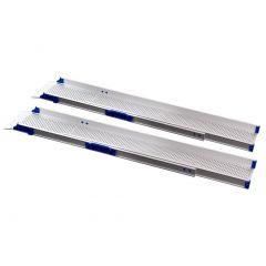 Feal RAMP PERFOLIGHT U2/3, TELESKOPISK RAMP L 2070/870MM, W-180MM, ML-150KG,REC 40 CM, T200-3/U2/3 # 101060