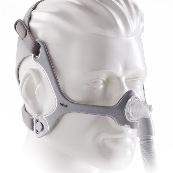 Philips Respironics Wisp Mask With Headgear And Three Cushions # 1094061