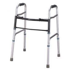 Al Essa Aluminum Walker With Wheels, #HFK-9106