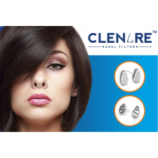 Clenare Invisible Nasal Filter Starter Pack, Rounded