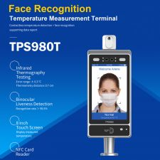Telpo TPS980T Fever Detection Terminal Android with Device Bracket ,# TPS980T